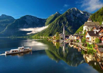 Boat trip in Wolfgangsee