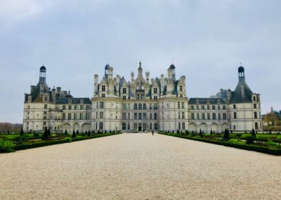 Chambord castle front