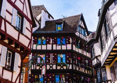 Colmar Maison aux Fleurs- Alsace