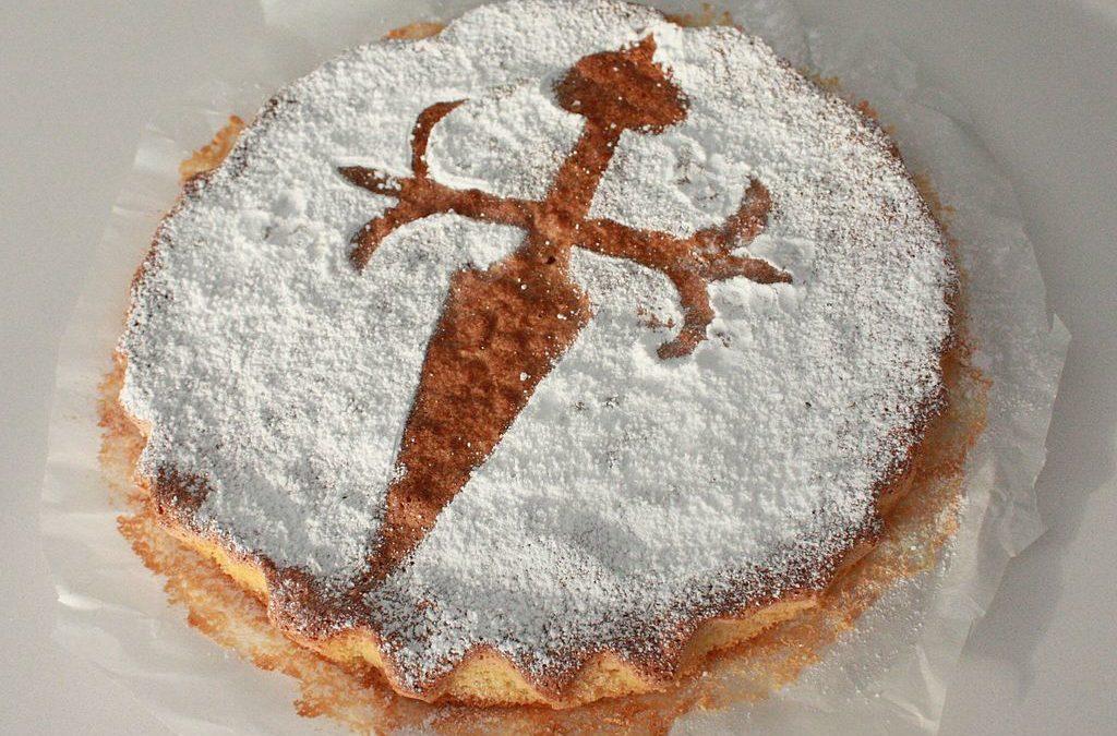 Tarta de Santiago – Traditional Pilgrim Almond Cake