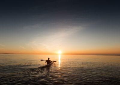 Canoe on the West Coast